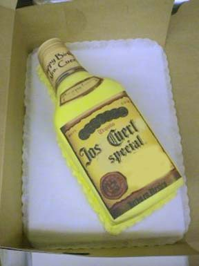 Novelity Bottle Shaped Cakes Cartoon Shaped Cakes Exotic