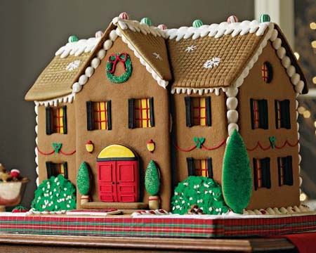 How do you make a gingerbread house with a homemade kit for How do you make a gingerbread house