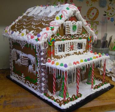 Gingerbread Housesginger Bread House Christmas Ginger Bread House Delectable Candy Cane House Decorations